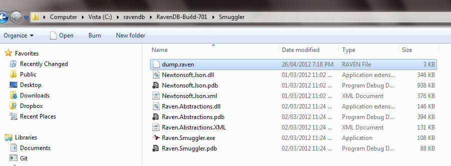 701 dump file location