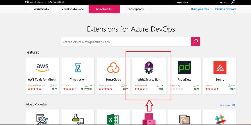 Azure Devops – OSS Scanning using WhiteSource – Azure Greg